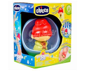 Chicco Lámpara con sonidos, luces y muñeco Elfo, Buenas noches baby 1 unidad