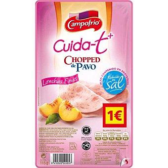 Pavofrío Campofrío Chopped de pavo en lonchas Cuida-t+ Envase 115 g