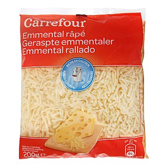 Carrefour Queso rallado Emmental 200 g