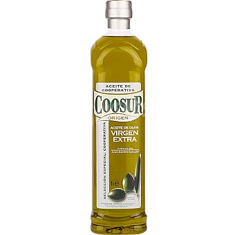 Coosur Aceite de oliva virgen extra de origen selección especial cooperativa Botella 1 l