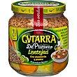Lentejas con puerro y zanahorias Frasco 360 gr Gvtarra