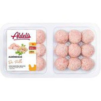 ALDELIS Albóndigas de pollo Bandeja 420 g