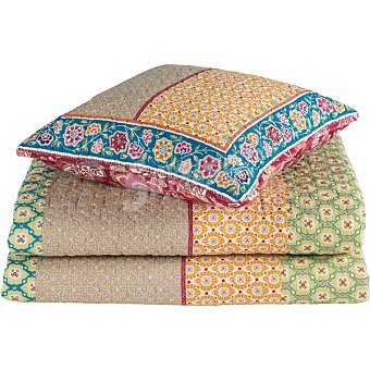 CASACTUAL Bouti Hippie Flores colcha para cama 90 cm