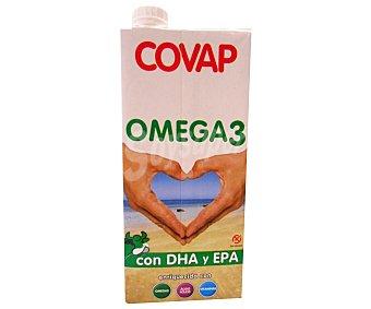Covap Preparado lácteo desnatado enriquecido con Omega 3, vitaminas Pack de 6 unidades de 1 litro
