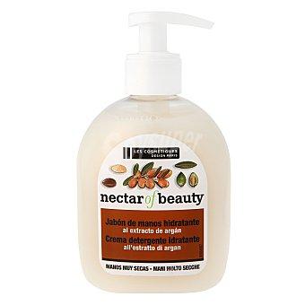 Les Cosmétiques Jabón crema hidratante con aceite de argán 300 ml.