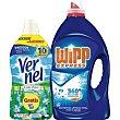 Detergente en gel Botella 47 dosis + Vernel Wipp Express