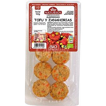 Natursoy bio albóndigas tofu y zanahorias Envase 155 g