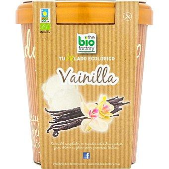 Bio factory THE helado ecológico de vainilla sin gluten Tarrina 500 ml