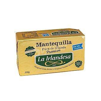 La Irlandesa Mantequilla sin sal Pastilla 250 g