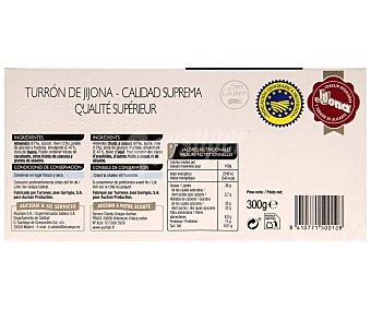 Mmm Auchan Turrón blando D.O. de Jijona 300 gramos