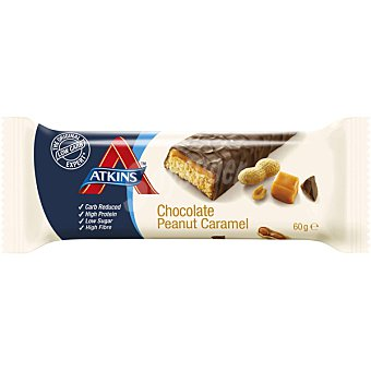 ATKINS ADVANTAGE Barrita snacks de chocolate cacahuete y caramelo Envase 60 g