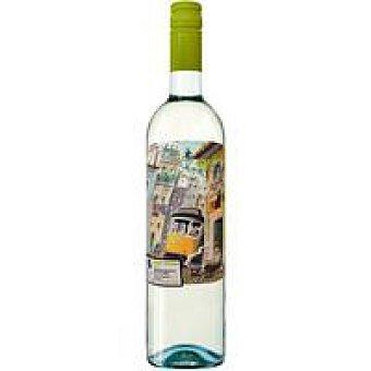 Porta 6 Vino Blanco Verde portugués botella 75 cl