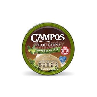 Campos Atún claro en aceite de oliva Lata 104 g neto escurrido