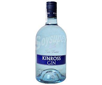 KINROSS Ginebra nacional premium selección triple destilación Botella de 70 centilitros
