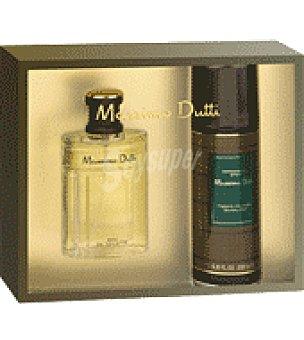 Massimo Dutti Estuche Colonia + desodorante Colonia de 100 ml. + desodorante de 200
