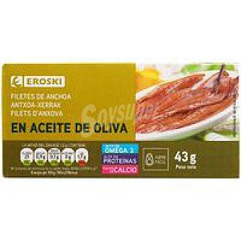 Eroski Anchoa en aceite de oliva Lata 23 g