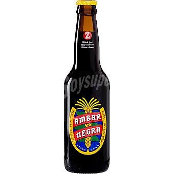 AMBAR cerveza negra nacional botella 33 cl botellín 33 cl