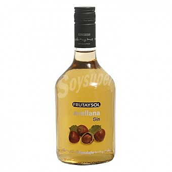Frutaysol Licor de avellana Frutaysol sin alcohol 75 cl