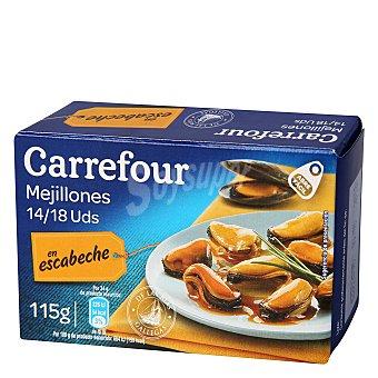 Carrefour Mejillones en escabeche 115 g