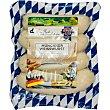 Salchichas Weisswurst de cerdo blancas con tripa natural 4 piezas sin gluten sin lactosa Envase 240 g Wolf