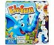 Juego infantil de habilidad Elefun, de 1 a 3 jugadores  Hasbro Gaming