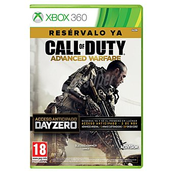 XBOX 360 Videojuego Call Of Duty: Advanced Warfare Edición Day Zero  1 Unidad