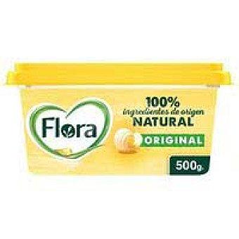 Flora Margarina vegetal flora, tarrina 500 G Tarrina 500 g