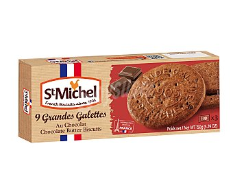 ST. michel Galletas de mantequilla y chocolate ST michel 150 g