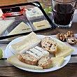 Tabla queso clásica mini: oveja añejo, semicurado mezcla, brie, azul y emmental 170 G Envase de 170.0 g. aprox Juan Luna