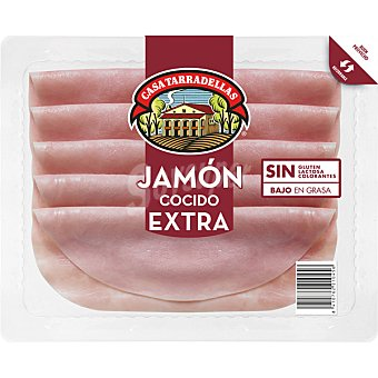 Casa Tarradellas Jamón cocido en lonchas Envase 150 g