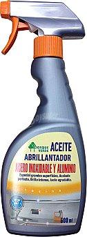 Bosque Verde Limpiador acero inoxidable y aluminio pistola (aceite abrillantador) Botella de 500 cc