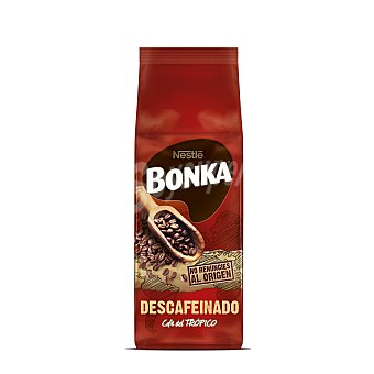 Bonka Nestlé Café descafeinado en grano Paquete 250 gr
