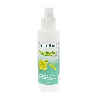 Carrefour Repelente de insectos spray 125 ml