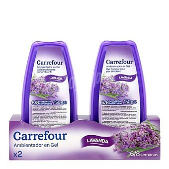 Carrefour Ambientador absorbeolores lavanda Pack 2x150 ml