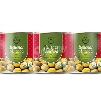 Condis Aceitunas PACK-3 UNI 120 GRS