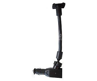 TROPHY Soporte universal para smatphone con cargador de mechero de coche con 2 conexiones usb 1 unidad