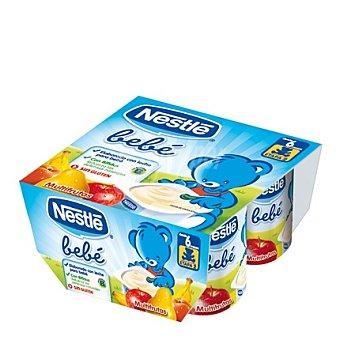 Nestlé - Bebé Yogur multifruta Pack de 4x100 g