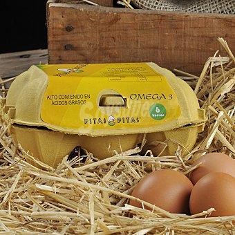 Pitas Huevos enriquecidos 6 ud
