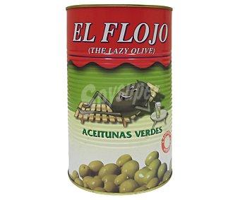 EL FLOJO Aceitunas verdes receta campesina Lata de 2,5 kilogramos