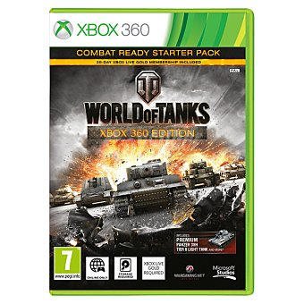 XBOX 360 Videojuego World Of Tanks Edition. Starter Pack 1 Unidad