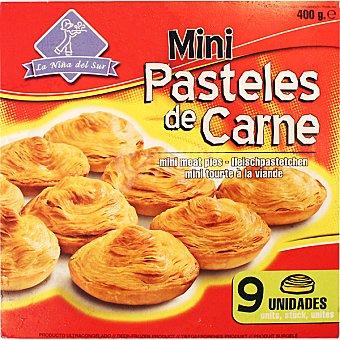 LA NIÑA DEL SUR Mini pasteles de carne estuche 400 g 9 unidades