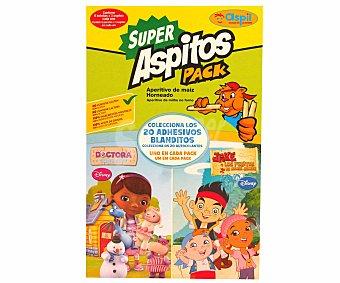 Aspil Aspitos (aperitivo de maíz horneado sin gluten) 40 gramos