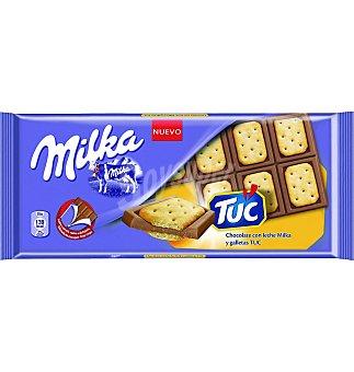 Milka Chocolate con leche y galleta TUC tableta 100 g Tableta 100 g