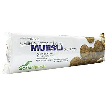 SORIA NATURAL Galletas integral de muesli  envase 165 g