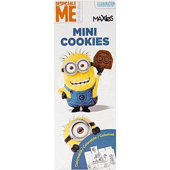 MAXIES Minions Mini cookies de chocolate Paquete 275 g