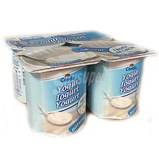Condis Yogur natural Pack 4 uni