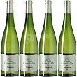 Vino blanco D.O. Cataluña caja 4 botellas 75 cl con regalo de 4 copas de vino 4 botellas 75 cl Torres Viña Esmeralda