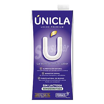 Feiraco Leche Unicla Sin Lactosa Brik 1 litro