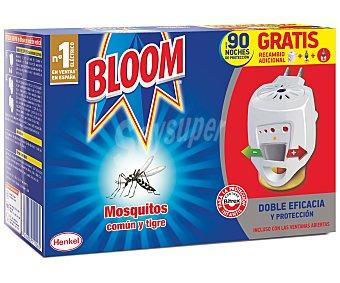 Bloom Insecticida volador eléctrico antimosquitos común y tigre aparato + recambio 1 unidad