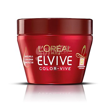 Elvive L'Oréal Paris Color Vive. Mascarilla protectora Tarro 300 ml